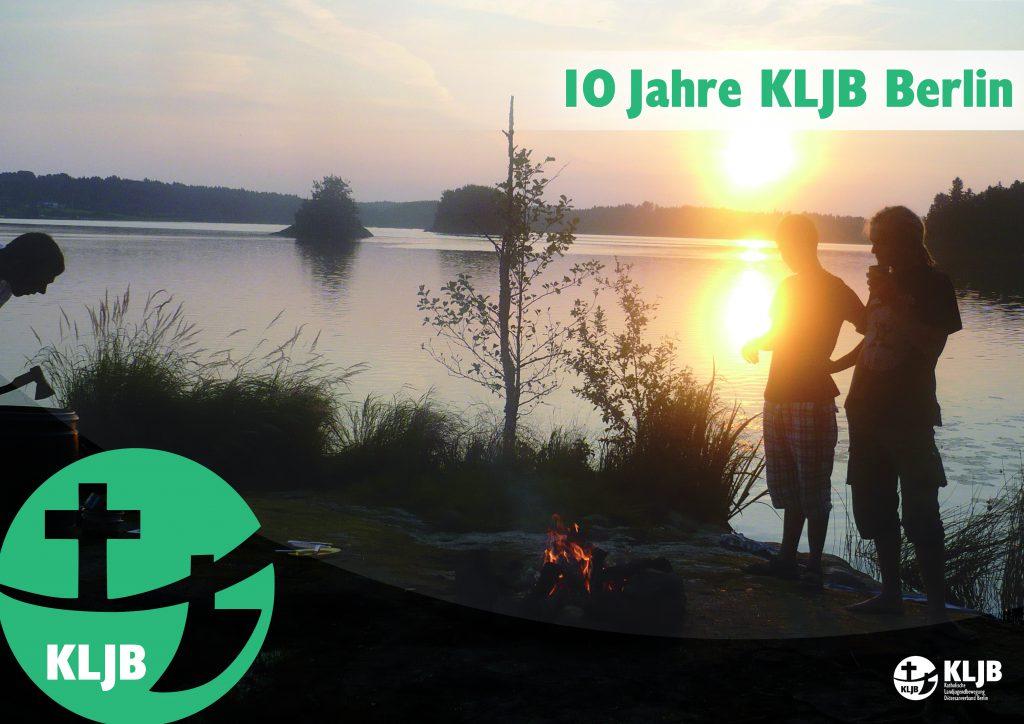 KLJB Plakat zum 10-jährigen Jubiläum
