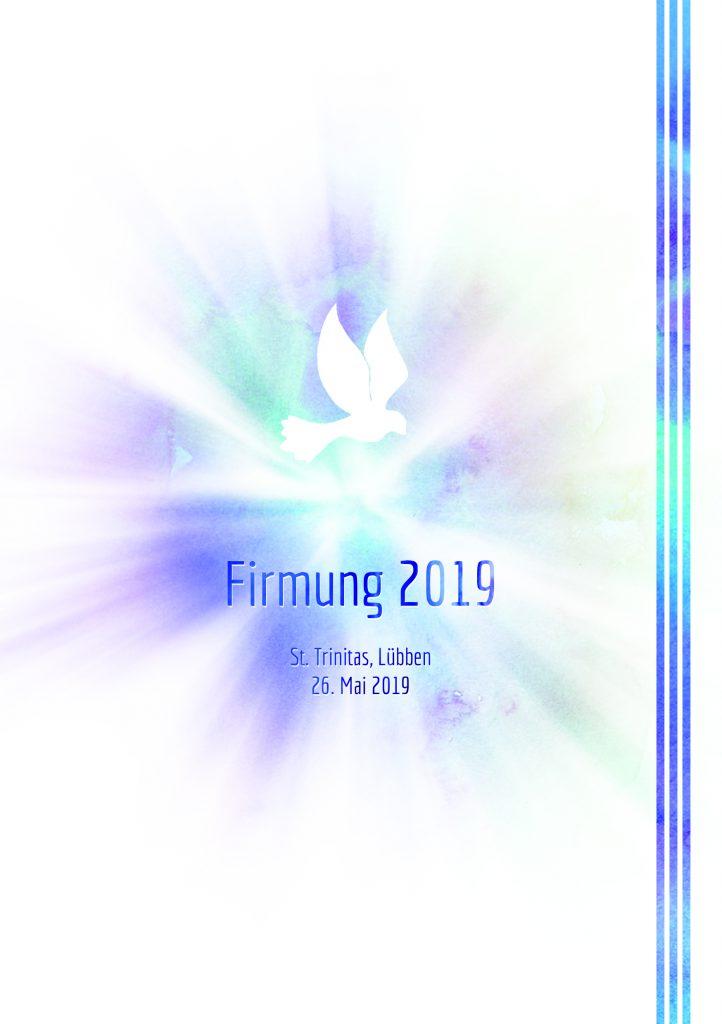 Liedheft für Firmung 2019