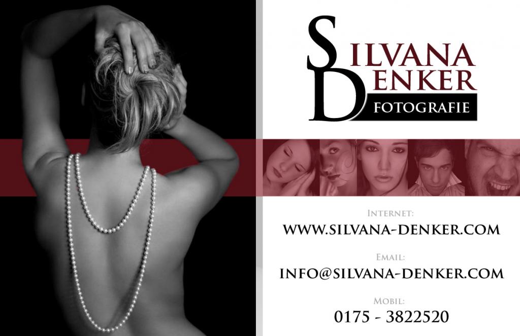 Visitenkarte für Fotografin Silvana Denker