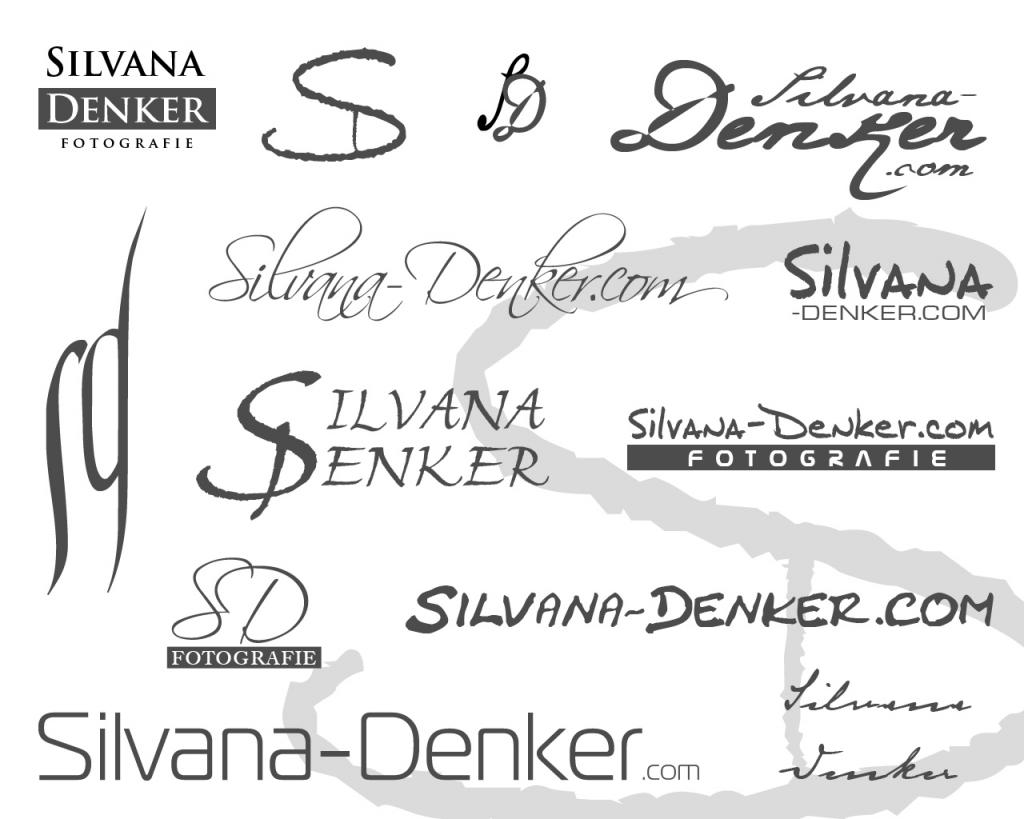 Logo für Fotografin Silvana Denker