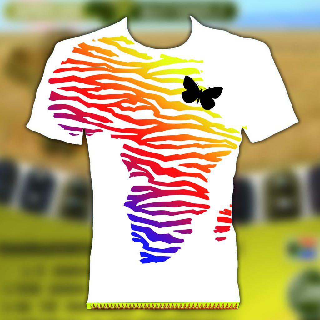 Shirt Design für africanbutterfly
